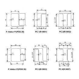 perfiles para marcos