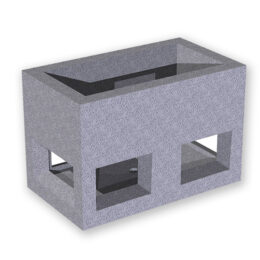 Arqueta prefabricada FPO4